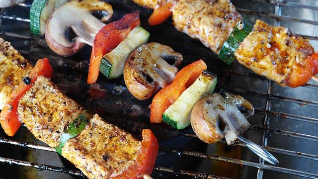 Kasvisyöjälle on tarjolla monipuolista grilliruokaa